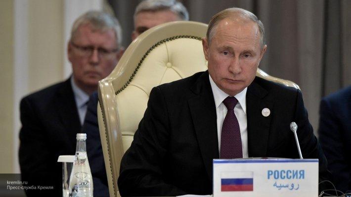 Путин: Конвенция о статусе Каспийского моря — хороший пример совместной работы