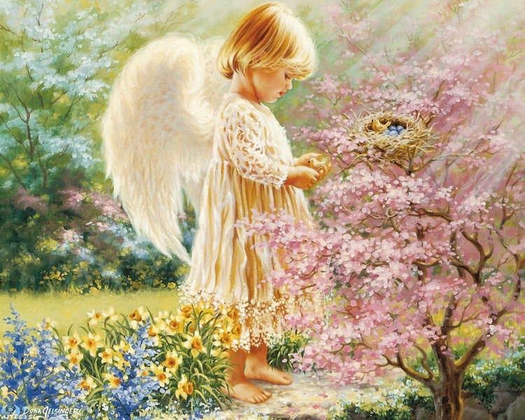 Картинки с дне рождения ангел