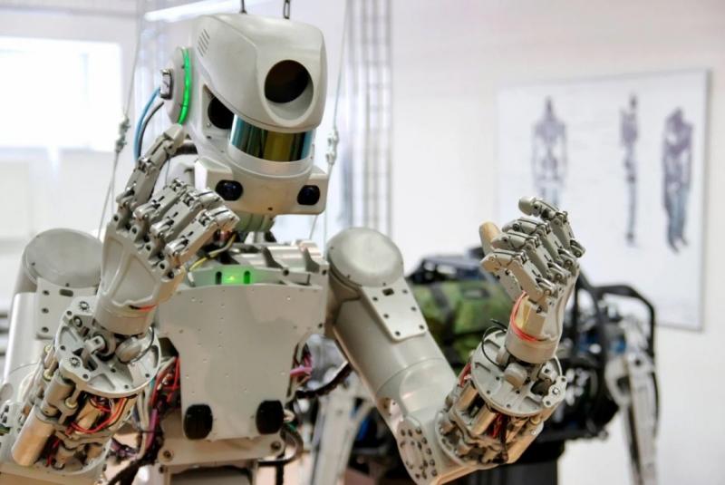 Робот Фёдор вступил в «Единую Россию» юмор