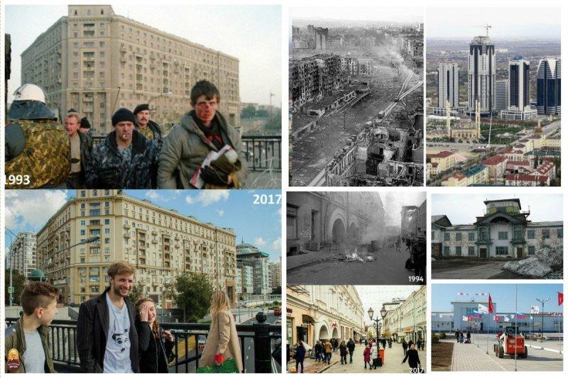 Как меняется наша жизнь - фото прошлого и настоящего