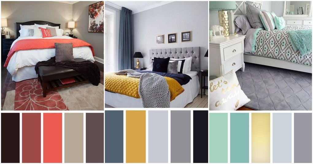 Стильная спальня без дизайнера.12 лучших вариантов цветовой палитры