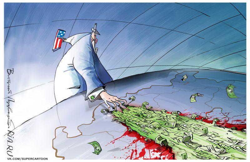 Барабаны войны, или Как Белый дом Европу на русских науськивает