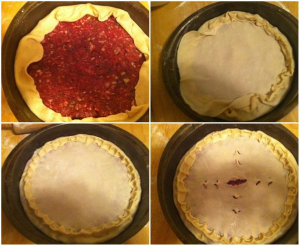 Как испечь осетинский пирог с мясом