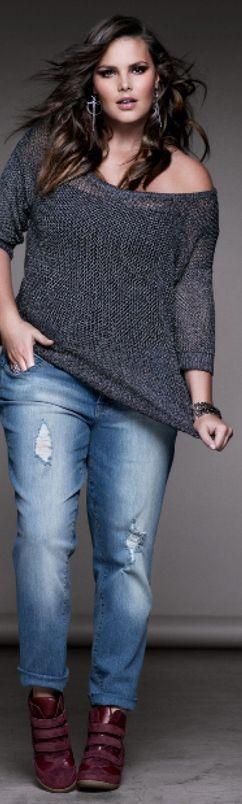 Fashionista: Plus Size Style I love
