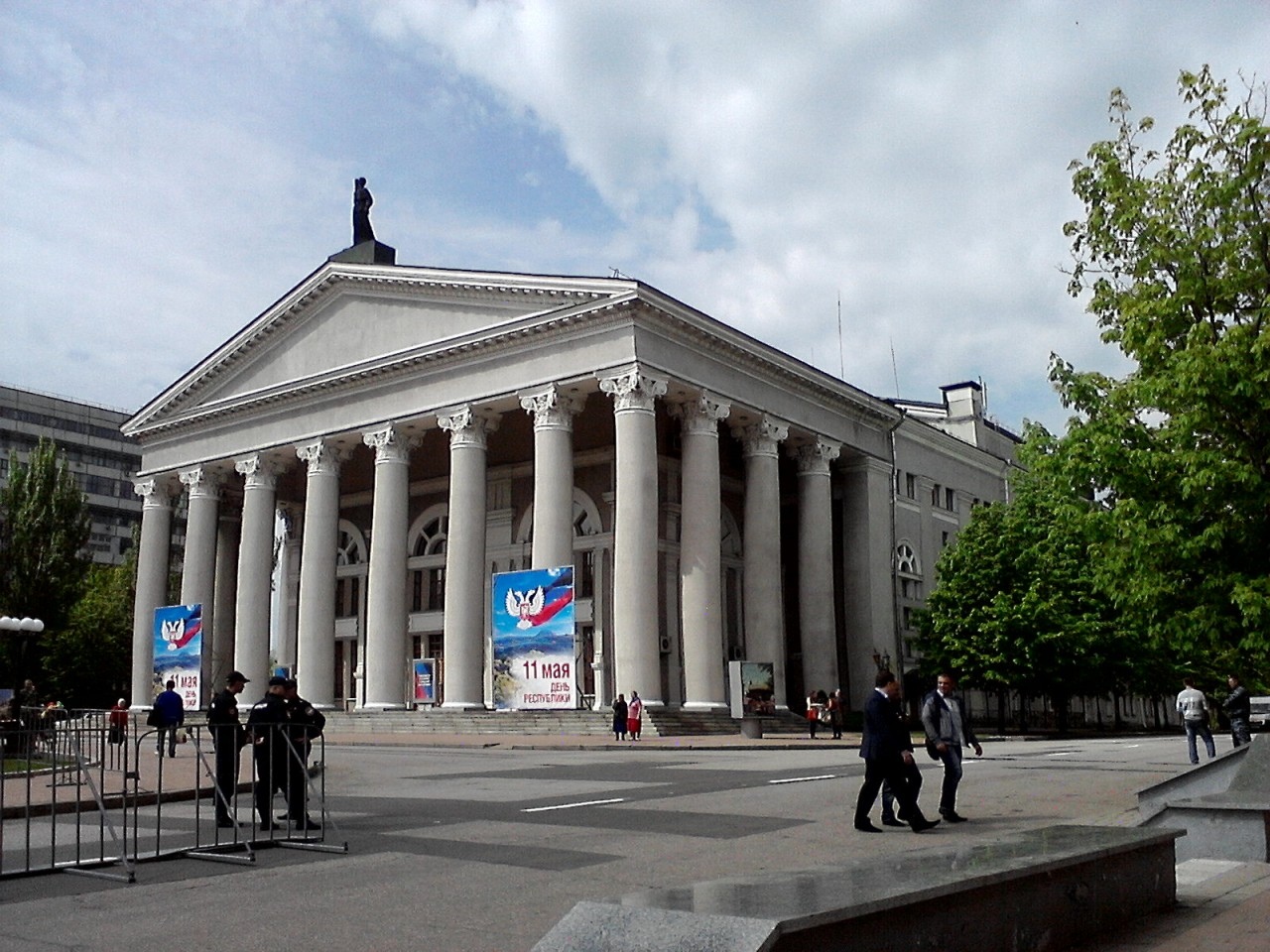 Донецк – перипетии евро-украинской политики, борьба со спекуляцией и очередной укробстрел