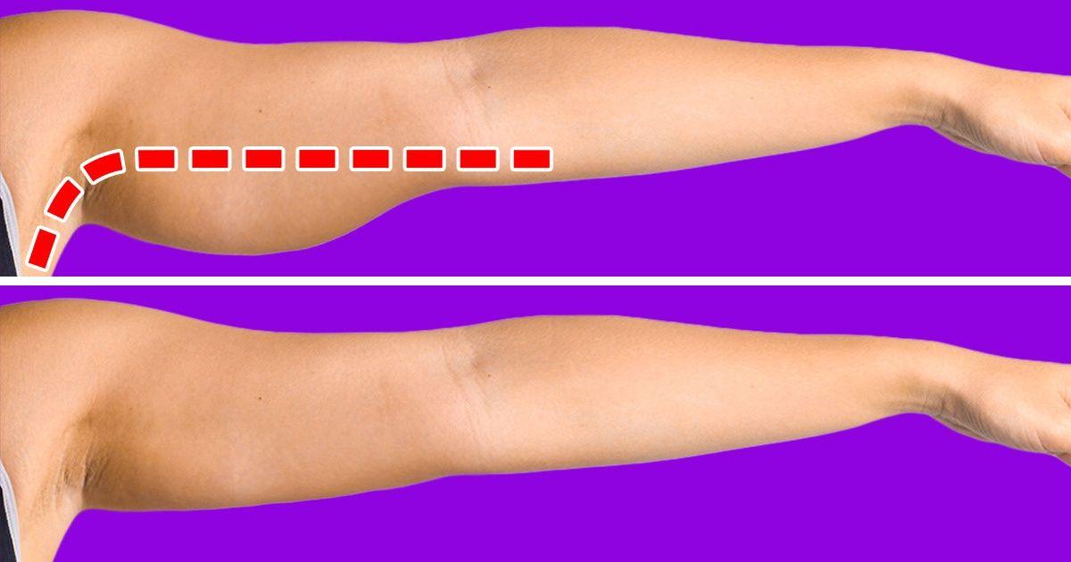 7 упражнений, которые помогут подтянуть ослабевшие мышцы рук за 5 минут в день