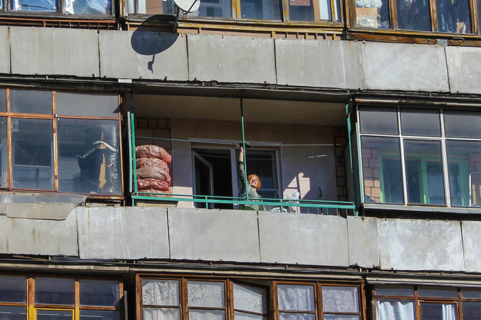 Зачем русским людям балконы?.