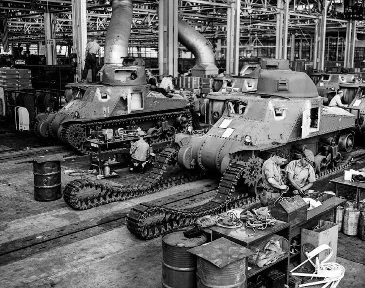 Заводы во время Второй мировой войны