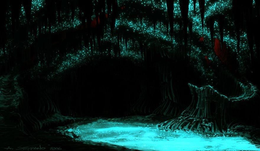 17. Пещеры Светлячков, Австралия красота, пейзажи, природа