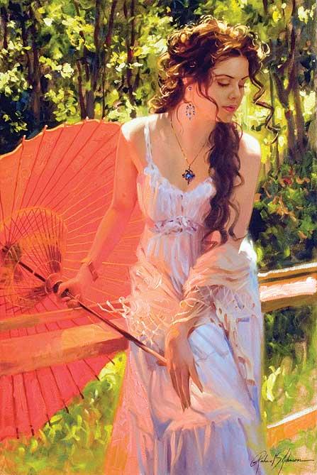 Женский образ в картинах Ричарда С. Джонсона