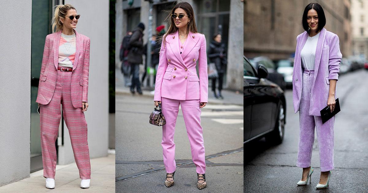 Уличный стиль осень-зима 2018-2019: брючный костюм — ваш модный манифест