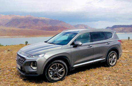 Новый Hyundai Santa Fe: мой красавчик приехал!
