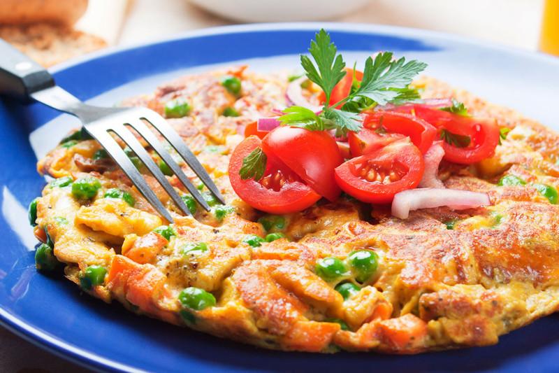 Фритатта готовка, еда, простые блюда