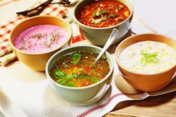 ТОП-9 домашних супов быстрого приготовления