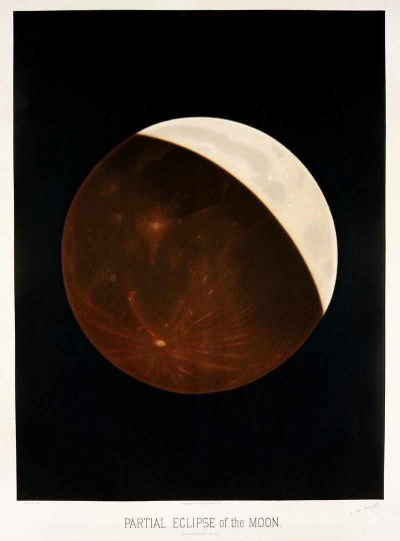 Старинные астрономические рисунки Этьена Трувело 9