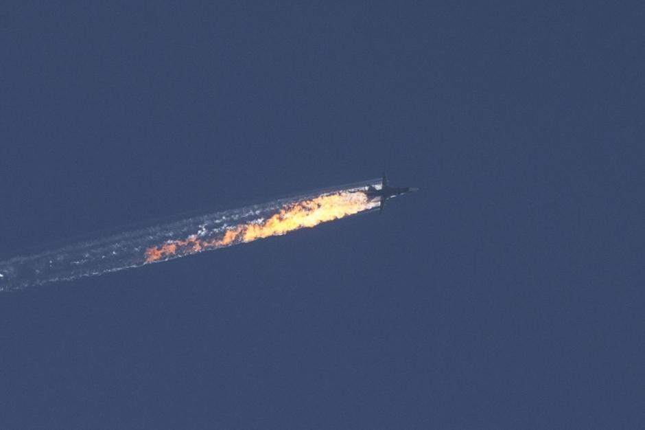 Французы про сбитый русский самолет