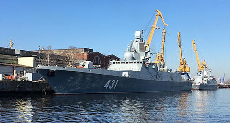 Фрегат-«невидимку» передадут российскому флоту виюле