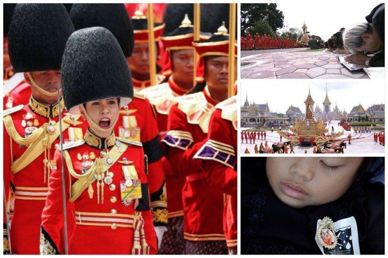 Как проходили в Таиланде похороны короля Рамы IX