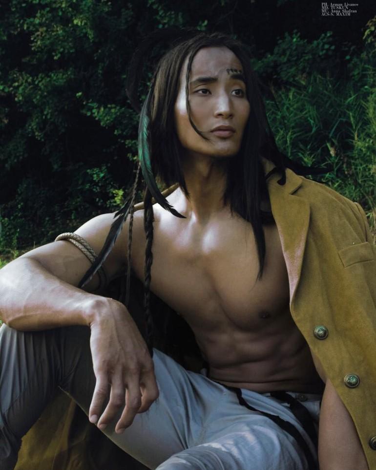 Моделинг: мужчины с самой необычной внешностью