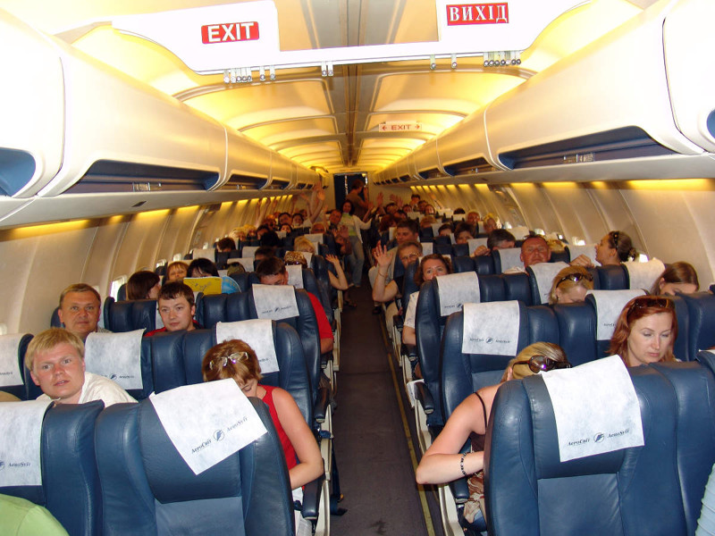 Пассажирские самолёты: как все происходит