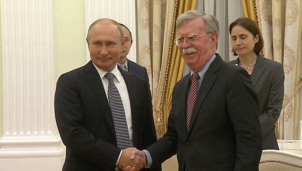 Путин предложил свою интерпретацию герба США