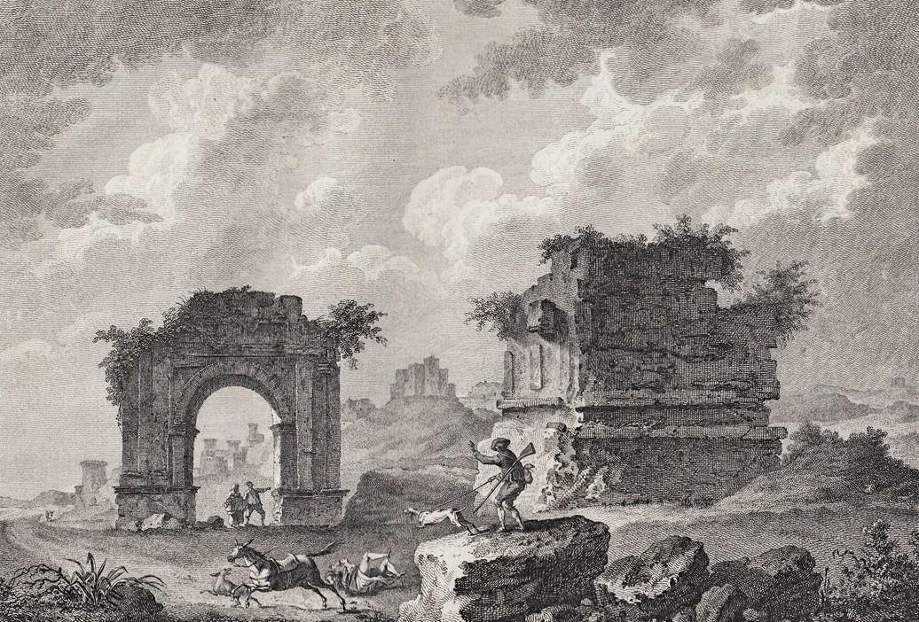Руины Европы и окрестностей перед реставрацией