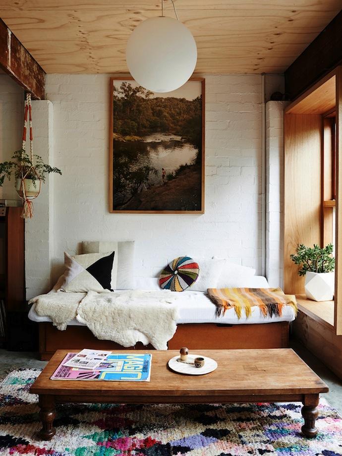 Дом с низкими потолками