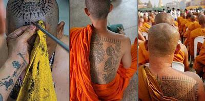 Традиционные тайские татуировки