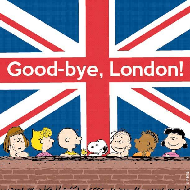Good-bye London