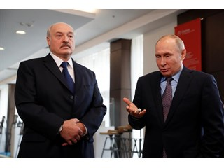 """Грозовой сигнал от Путина в """"поздравлении"""" Лукашенко геополитика"""