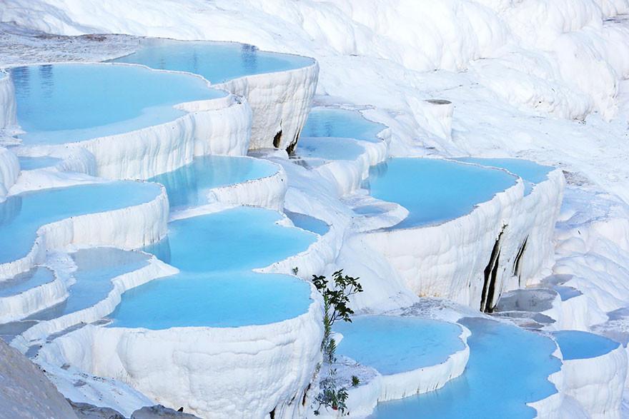 5. Памуккале, Турция земля, красота, планета, природа