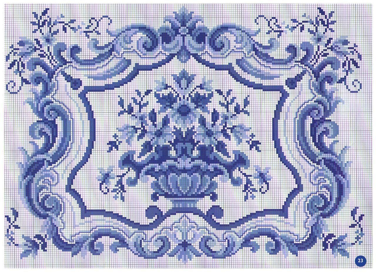 Схемы для вышивки росписью