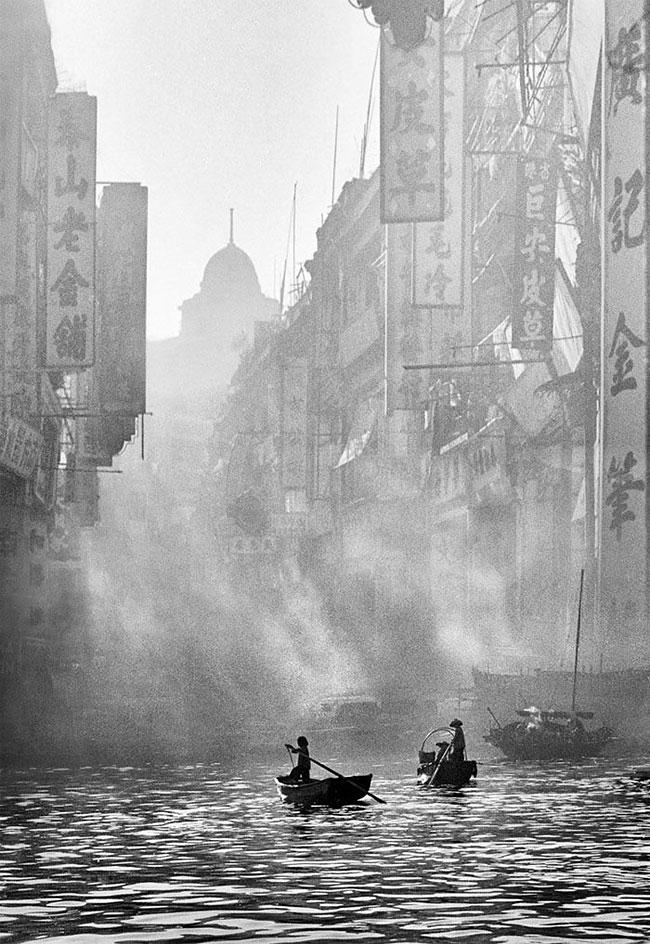 Потрясающе атмосферные фотографии Гонконга 1950-х