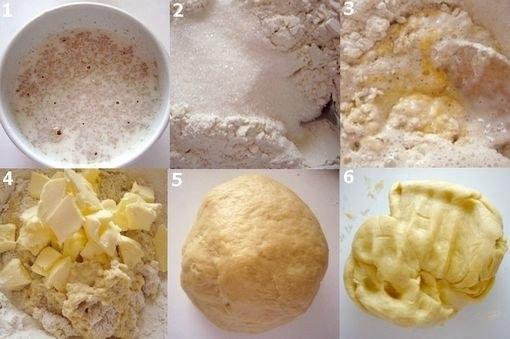 Фото к рецепту: Воздушные кружевные булочки