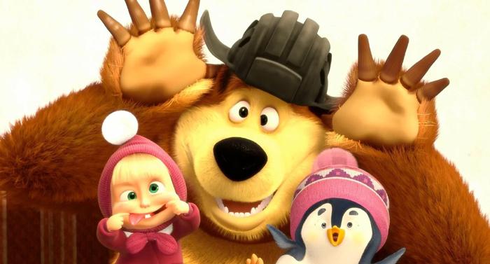 """Психологи запретили детям смотреть """"Машу и медведя"""""""