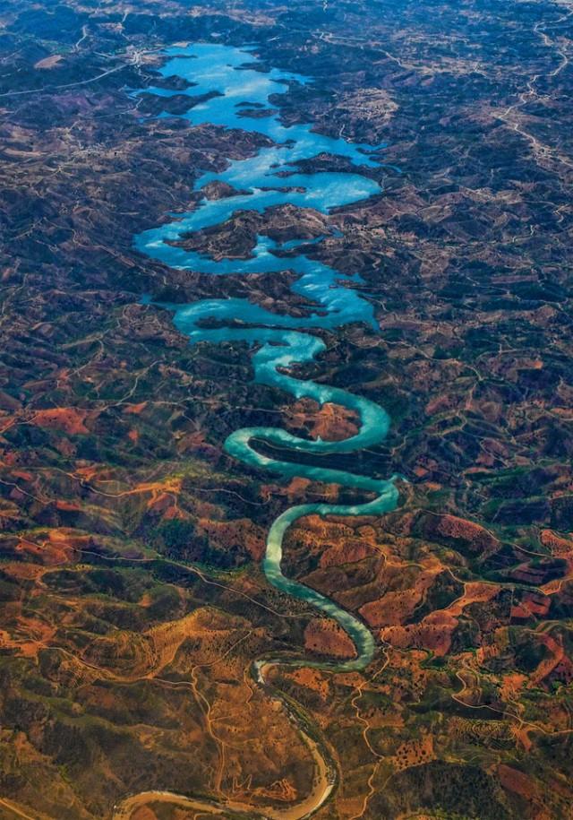 Река Оделейте, Португалия красивые, реки