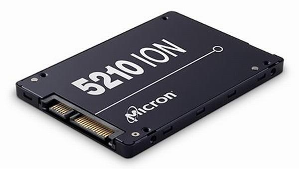 SSD Micron 5210 ION основан на новой памяти QLC