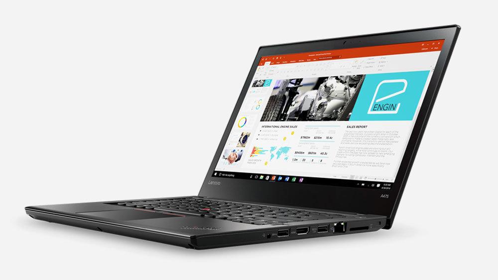 Lenovo представила новые ноутбуки ThinkPad на базе технологий AMD