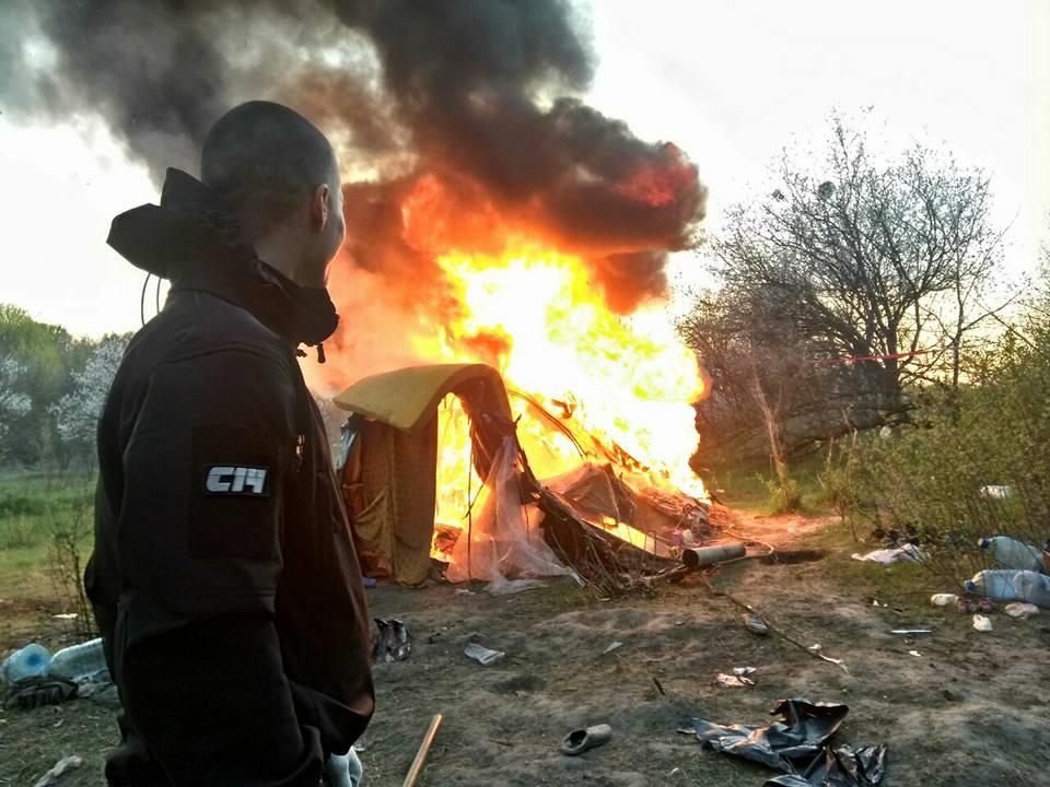 В Киеве начались погромы