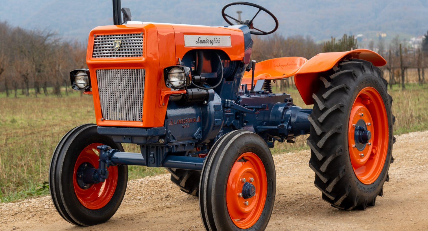 5 тракторов: от Porsche до Lamborghini Автомобили