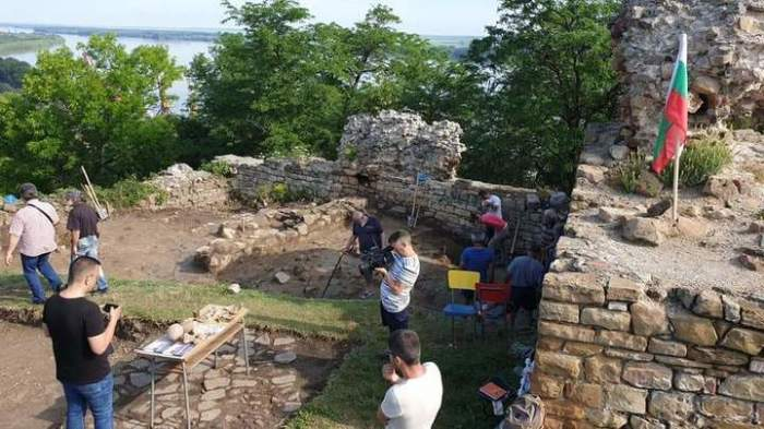 Крепость Зиштов в Свиштове, где проходили раскопки.