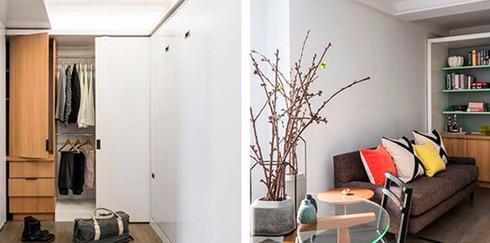 Квартира-трансформер: все необходимое на 36 квадратных метрах