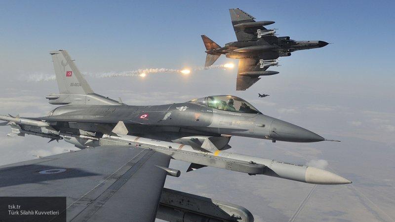 ВВС Турции по ошибке нанесли удар по базе спецназа США в Сирии