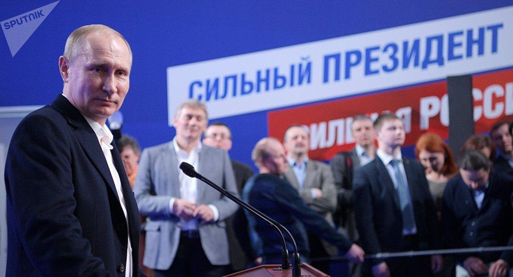 Выборы в России: абсолютный нокаут от Путина!!!