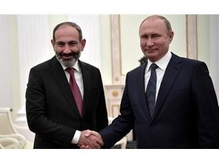Путин и Пашинян входят в «деловой формат»: премьер Армении в России