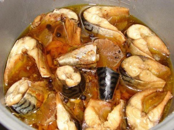Вкуснейшая тушеная скумбрия с овощами. Теперь я люблю эту рыбу еще больше