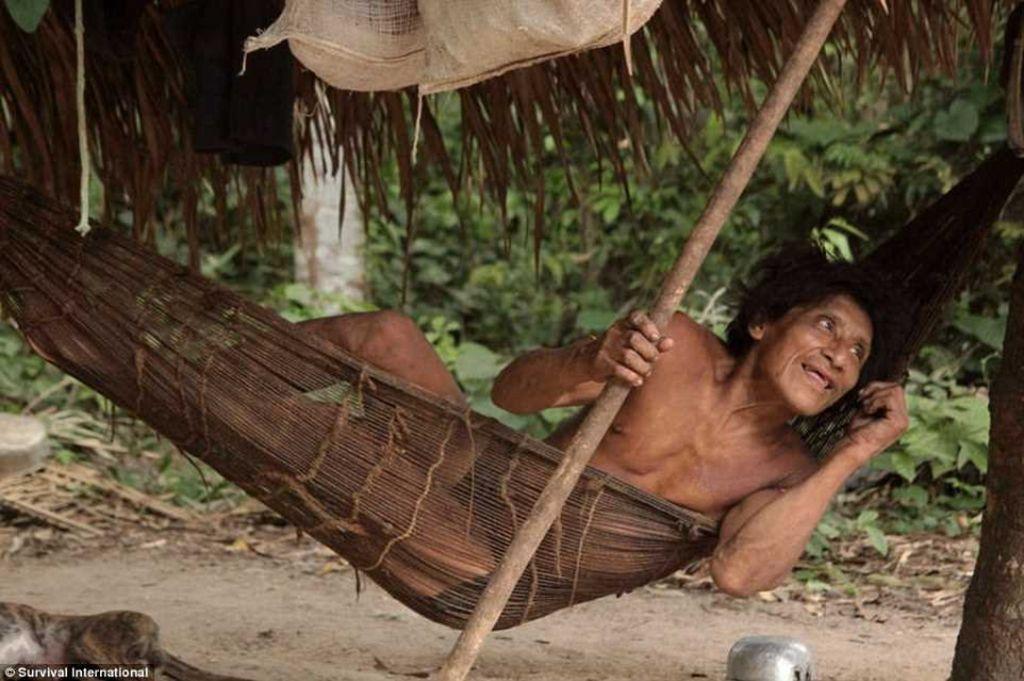 Люди племени Ава