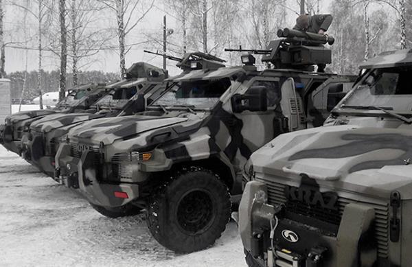 Киев бросает в Донбасс БТР для поражения танков и вертолетов