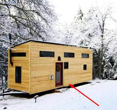 Пара построила дом своей мечты. Он крошечный, но зато суперуютный