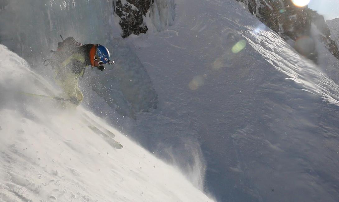 Как катаются на горных лыжах в Африке